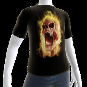 Epic Horror Skull 2 T-Shirt