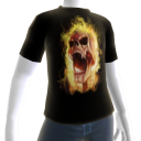 Epic Horror Skull 2 T-Shirt