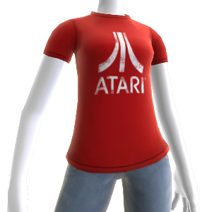 Red Atari Logo Shirt