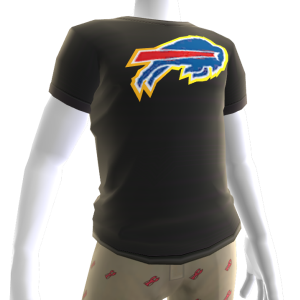 Bills Gold Trim Tee