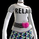 Camisa Relax', Cinto e Colares