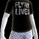 "T-Shirt ""Flynn lebt"""