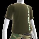 T-shirt com logótipo vertical Modern Warfare 2