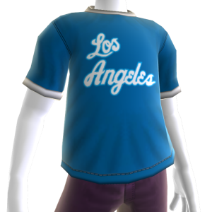 Lakers Hardwood Classic Tee