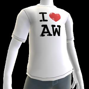 I love Alan Wake shirt - Male
