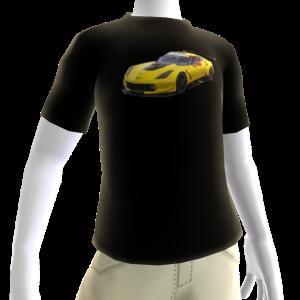 2016 C7.R Edition Corvette Black Tee 3