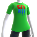 Git Wet Tee- Lime