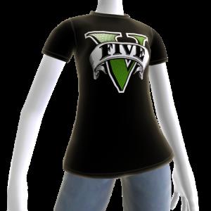 Koszulka z logo GTA V