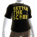 "T-shirt ""Settle the Score"""