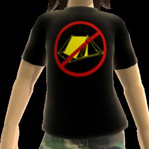 Epic No Camping Shirt