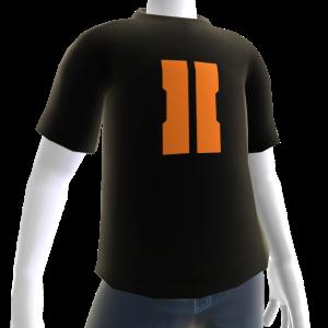 """COD: Black Ops II """"II"""" Shirt Black - Male"""
