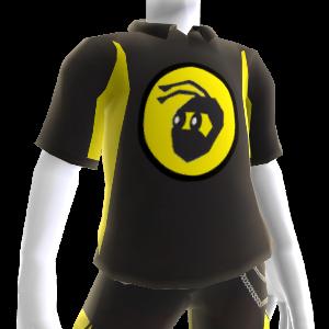 Polo deportivo negro NinjaBee
