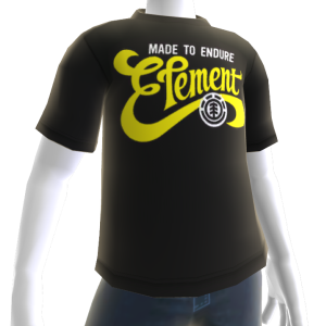 Element Brushed Tee - Black