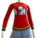 Christmas Ugly Sweater Bear