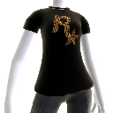 Camiseta logotipo bala Rockstar
