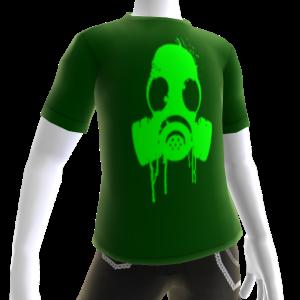 Green Gas Mask Green Tee