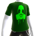 Green Gas Mask Green Tee