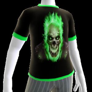 Green Fire Skull 2 Green Trim