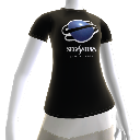 Sega Saturn T-Shirt Female Avatar