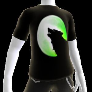 Green Wolf Howl Tee