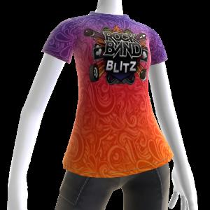 Rock Band Blitz Koszulka - psychodelia
