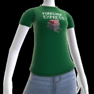 Minecraft Camiseta de vagoneta