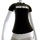 Camiseta logotipo Max Payne 3