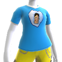 Eisblaues Kefling-T-Shirt