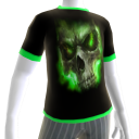 Green Fire Skull 4 Green Trim