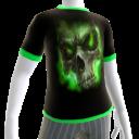 Green Fire Skull 4 Green Trim