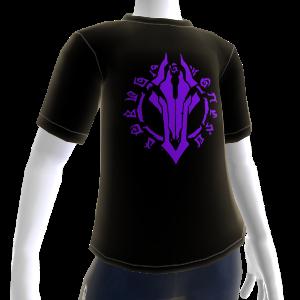 Camiseta com o símbolo de Darksiders II