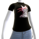 Epic Laser Cat 1 Black T-Shirt