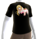 Anime 4 Black T-Shirt