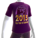 2015 Year of Gaming Purple Tee