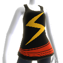 Ms. Marvel Costume Tee