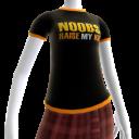 Epic Noobs Orange Trim Shirt