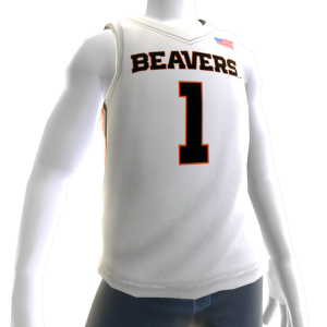 Oregon State Basketball Home Jersey