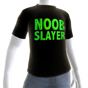 Epic Green Noob Slayer Black