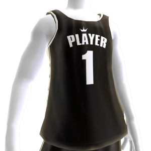 KKZ Black and White Player 1 Jersey