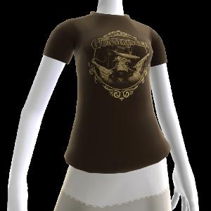 Camiseta de pistolas humeantes de The Gunstringer