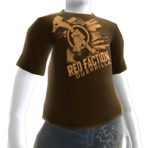 T-shirt do Red Faction: Guerrilla