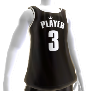 KKZ Black and White Player 3 Jersey
