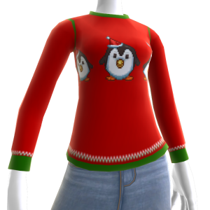 Christmas Ugly Sweater Penguin
