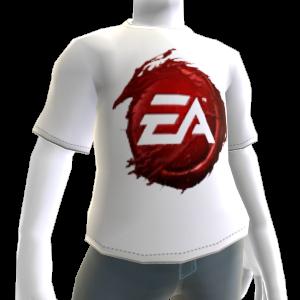 T-shirt logotipo de sangue EA