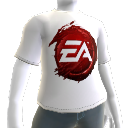 T-shirt logotipo de sangue EA