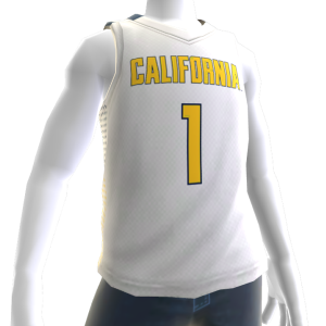 California Basketball Home Jersey