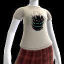 Camiseta de Isaac con dibujos