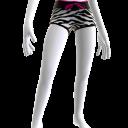 Zebra Print Shorts