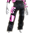 Battle Pants - Pink Black