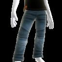 KKZ Blue Designer Jeans
